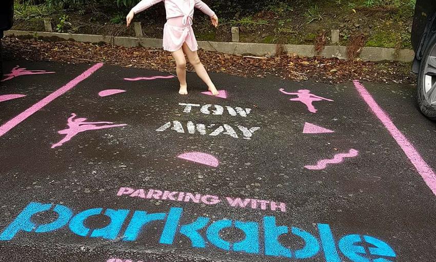Parkable car park space
