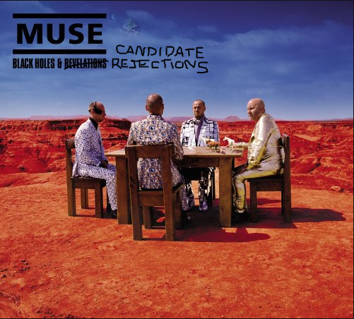 Muse black holes and revelations album cover